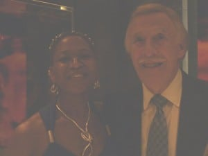 Marilyn Devonish with Bruce Forsyth