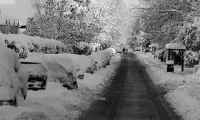 UK snow storm 2010