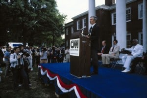 Ted Turner at the CNN Launch