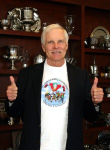 Ted Turner on a mission to unite the world
