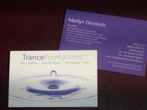 My TranceFormations Water Drop Logo