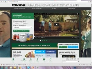 Ronseal.  It does exactly what it says on the tin!