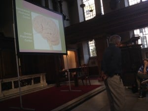 Dr John Arden discussing the Prefrontal Cortex