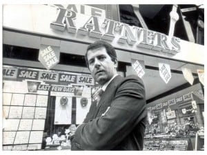 After his social gaff, Gerald Ratner couldn't give it away