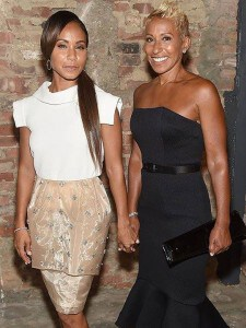 Jada Pinkett-Smith and her mother aged 60