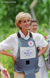 Lady Diana supporting the British Red Cross