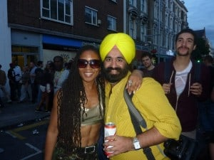 Marilyn Devonish at the Notting Hill Carnival