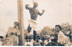 Public lynchings and burnings. There are no words.