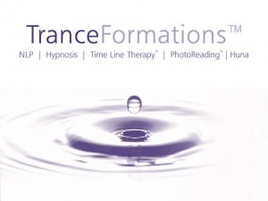 TranceFormations TM water drop logo - A catalyst for lasting change and transformation