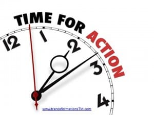 Time to take action!