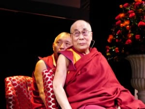 The Dalai Lama live in London