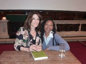 Marilyn Devonish with Marianne Williamson