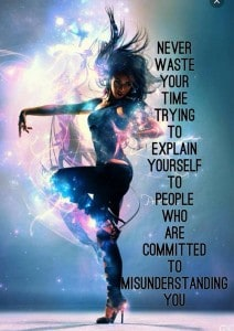 Life is far to fleeting and precious to waste your valuable time . . . .