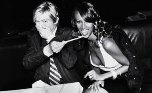 David Bowie and Iman having fun. Photo credit: thinglink.com