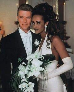 David Bowie & Iman Wedding Day