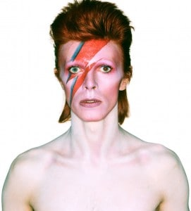 David Bowie Aladdin Sane Album Cover 1973