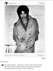 Prince Tribute Lenny Kravitz