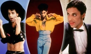 Prince: Crop tops and high tops