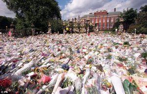 Princess Diana floral tributes