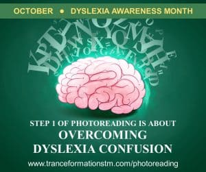 Overcoming the buzzing confusion of dyslexia with this 30 second technique